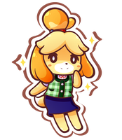 Isabelle by MegaBuster182
