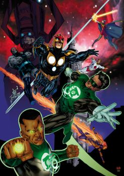 In blackest night... by SpiderGuile
