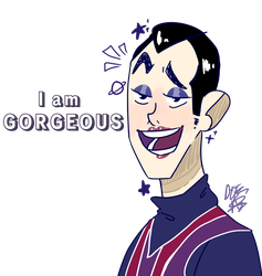 [Robbie rotten from lazy town] by Deez-natts