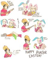 Avatar Easter for Sajira by InkHeart17