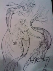 Mermaids by TheDisappearing