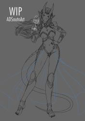 WIP - Adriana Vinson by ADSouto