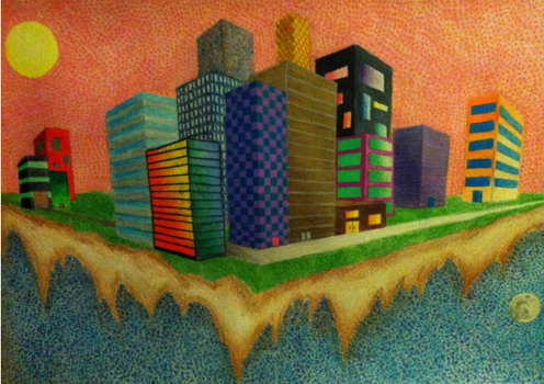 City Of the Future by Frajerem