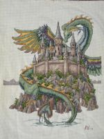 Dragon Cross-Stitch by anijess3