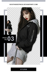 Png Pack 3994 - Hyuna by southsidepngs
