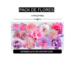 +Floral Pack|Free by ScribedLove
