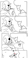 Undertale: Pocky by Geeflakes-art