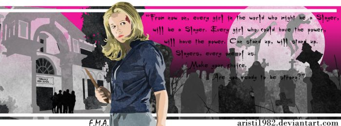 FLAG (Quote) - series 12 - Buffy by aristi1982
