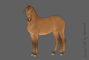Horse Adoptable 50 pts. - CLOSED by Anonymous-Shrew