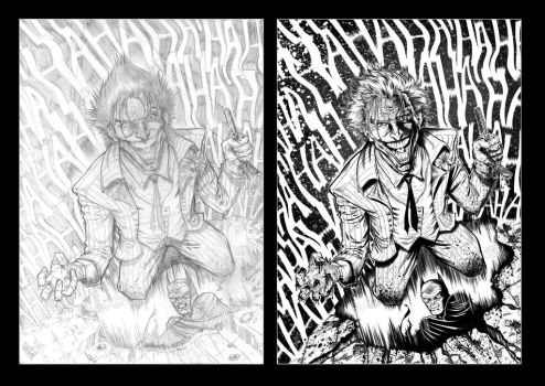 Joker Pencils vs. Inks 2017 by barfast