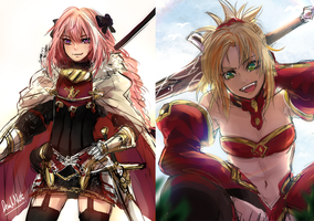 Astolfo/ Modred by Devil-Nutto