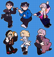 YOI charms by mozalieri
