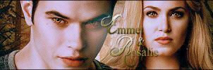 Banner Emmet and Rosalie by GABY-MIX