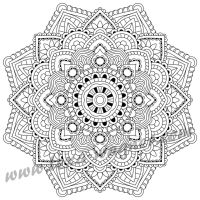 Preview 7 - Mandala - Coloring Book For Adults by Lexa-Wagner