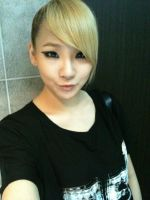 Beautiful CL Selca by snowflakeVIP