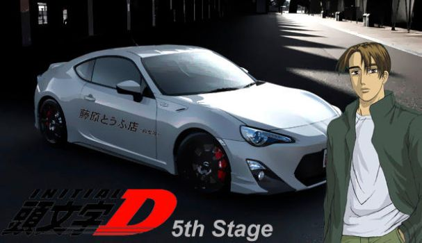 Initial D - 5th Stage by zefoxe