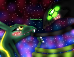 I defeated you (Rayquaza x Zygarde) by zygarde-879