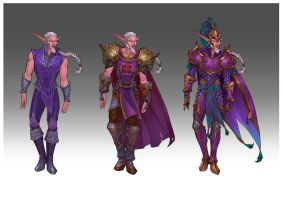 Wardrobe commission - The Highborne by LiberLibelula