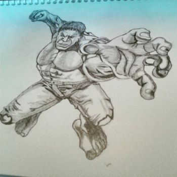 The Hulk by CambodianFire