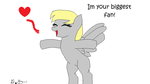 Im your biggest fan! (wish i had some fans XD) by ILOVEALLMANGA