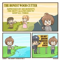 The Honest Wood Cutter 3 by mclelun