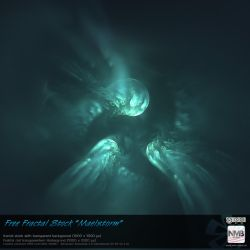 Free Fractal Stock Maelstorm (transparent PNG) by Hexe78
