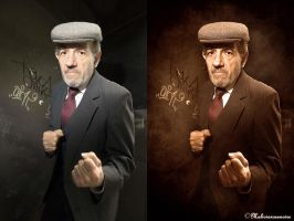 You want to fight ? - Comparaison by MaliciaRoseNoire