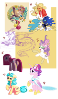MLP art dump 2: Electric Boogaloo by Lopoddity
