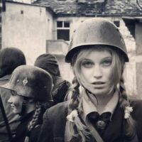 German girl at war by someone1fy