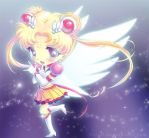Eternal Sailor Moon Chibi by Tetiel