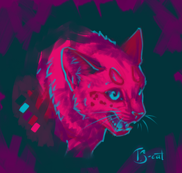 Rage with pink and blue by TS-cat