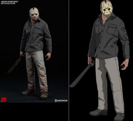 Jason Voorhees by blenderaki