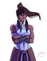 Ready for Korra by Yamino