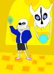 Sans Geno Redo by Raging-Riolu