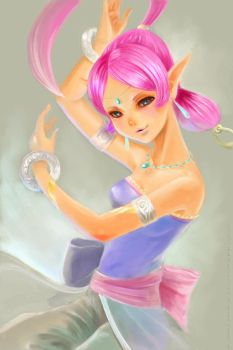 Genie of the Ring by manaita