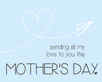 Airplane Mother's Day Card by allonsykimberly