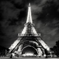 Paris - Eiffel Tower at Night by xMEGALOPOLISx