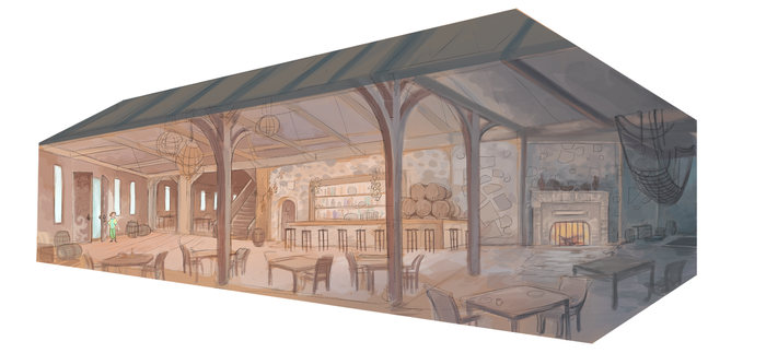 Cat's Tail Tavern by GreekCeltic