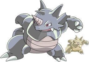 112 - Rhydon by Tails19950