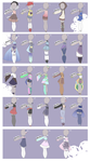 (open) Cheap Mixed Outfits! by YukuAdopts