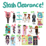 CHARACTER PURGE!!! Resell and OTA by SimplyDefault