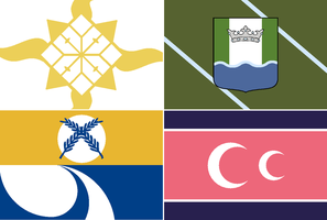 Flags of the Fictional World 1 by ErinPtah
