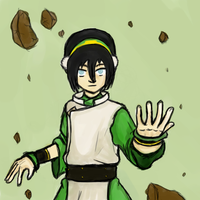 Best Earthbender in the world by Aureawolf