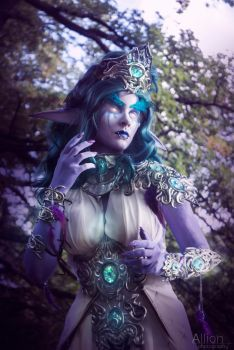 Tyrande Whisperwind by Headclouds