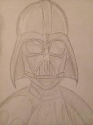 Darth Vader pencils by christheZfighter