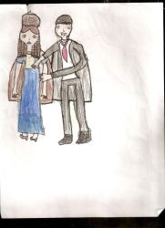 Barnabas and Josette by GCBfanforlife1