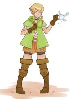 Fairy Girl Linkle~ by mastergray