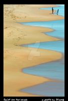 quiet on the beach by stanb