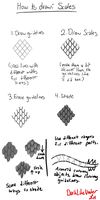How to Draw Scales: Tutorial by DarkLikeVader