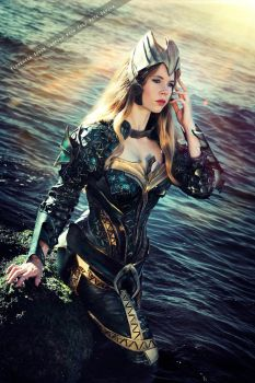 Mera - Justice League Movie - DC Comics by FioreSofen